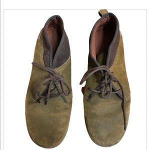 Teva cedar canyon suede sneakers